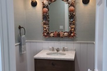 Bathroom sink and mirror remodeling in Pinecrest, FL