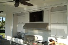 Outdoor cabinets for summer kitchens in Miami, FL