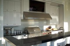 Summer kitchens with outdoor cabinets in Kendall