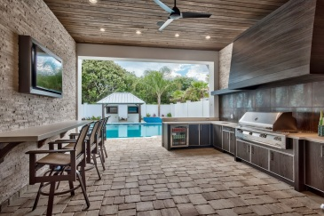 Summer kitchen in Key Largo, FL