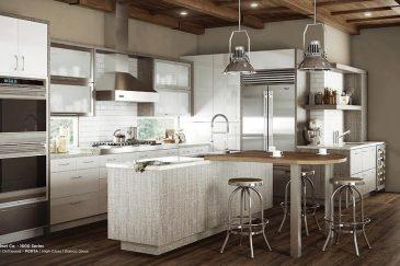 Kitchen design with kitchen cabinets in Key Largo, FL