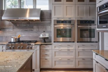Custom kitchen cabinets, dual oven, kitchen remodeling