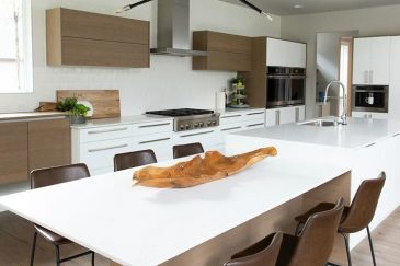 Kitchen remodeling with custom kitchen cabinets