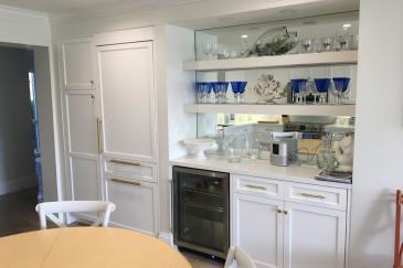 kitchen-gold-wine-cooler