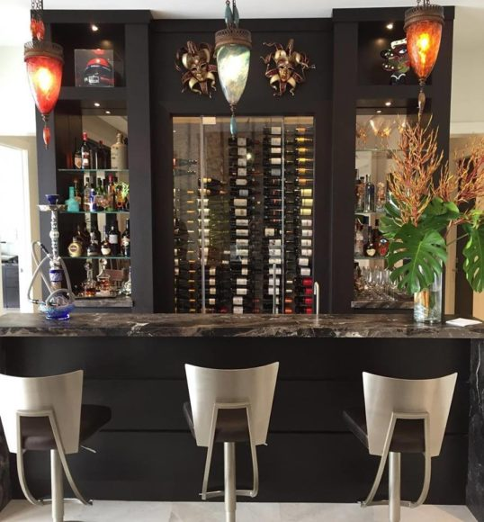 Custom Home Bar in Miami, Coral Gables, Key Largo, Palmetto Bay, Kendall, and Pinecrest, FL