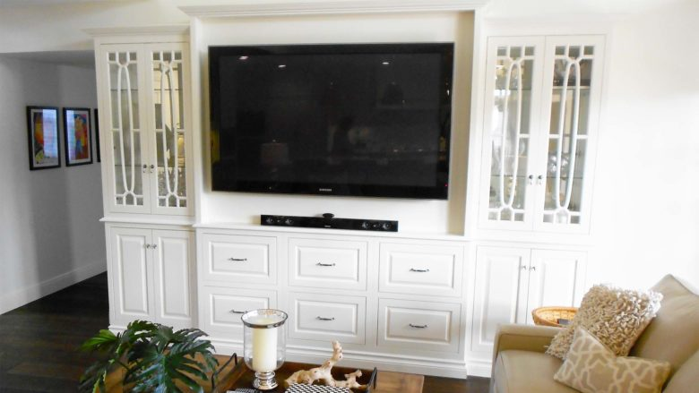 Custom Entertainment Centers in Miami, Coral Gables, Kendall, Pinecrest, Palmetto Bay, and Key Largo