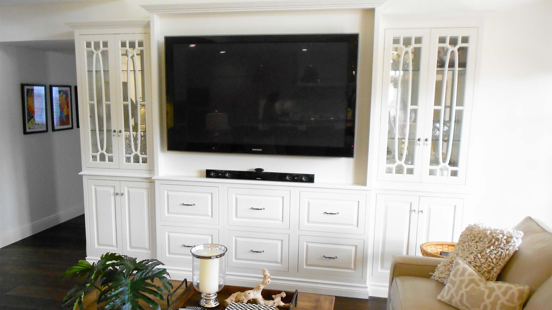 Custom Wall Units in Pinecrest, Coral Gables, Miami, Key Largo, Kendall