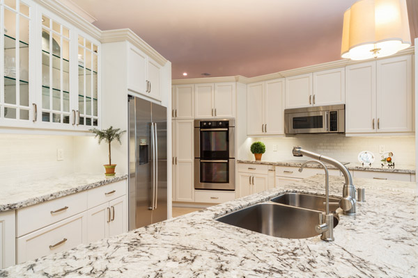 Custom kitchen cabinets in Key Biscayne home