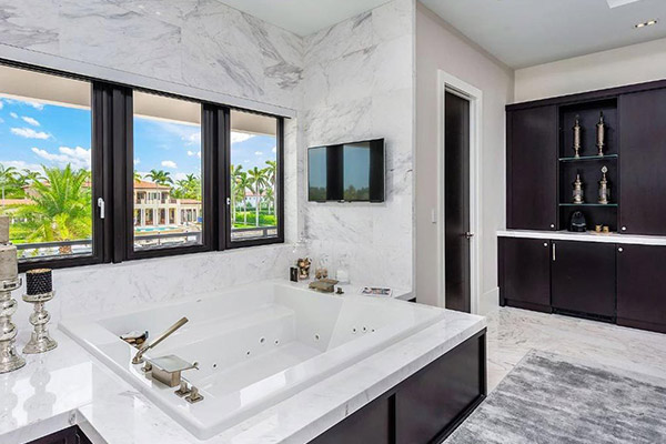 Bathroom Remodeling in South Miami luxury home