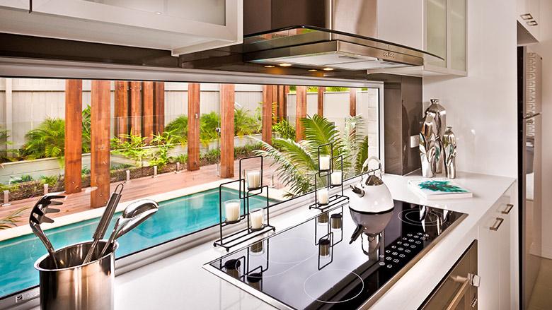 Kitchen remodeling, modern kitchen redesign, in Coconut Grove, Miami, FL