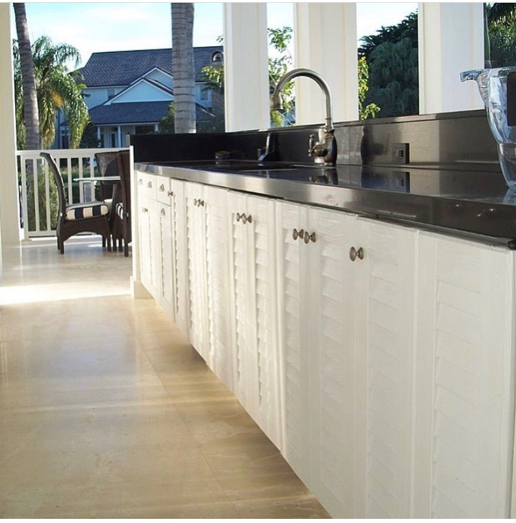 Outdoor Cabinets for Clients in Miami, Coral Gables, Key Largo, Palmetto Bay, Kendall, and Pinecrest